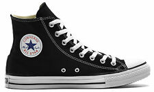 CONVERSE CHUCK TAYLOR ALL STAR HI BLACK CASUAL UNISEX SNEAKERS MENS WOMENS SHOES