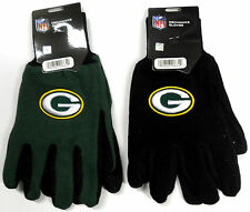 NWT NFL Green Bay Packers No Slip Gripper Utility Work Gloves W/ 3D Logo Adult