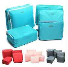 5Pcs Clothes Underwear Socks Packing Cube Storage Bag Travel Luggage Organizer