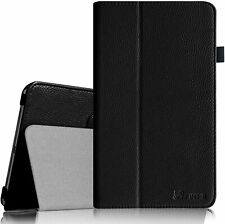 Folio Case Stand Leather Cover for Samsung Galaxy Tab 4 Nook 7-inch Tablet