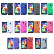 S Line TPU Silicone Gel Case Cover For Samsung Galaxy S5 mini G800 duos M/Y/H/A