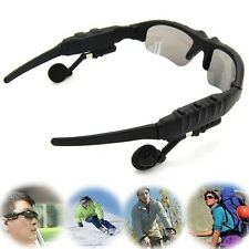 Wireless Bluetooth Sunglasses Stereo Music Calls Headset Handfree For Cell Phone