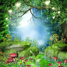 Mysterious Forest Full Wall Mural Large Print Decal Wallpaper Home Decor Indoor