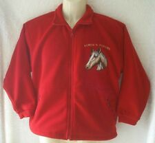 HORSE HEAD  MOTIF  - QUALITY FLEECE JACKET - PERSONALISED EMBROIDERY