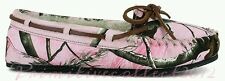 NIB WOMENS REALTREE PINK CAMO MOCCASIN SLIPPERS FLATS CASUAL SHOES *ALL SIZES*