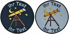 astronomer patch with your text 10cm embroidered logo (707)