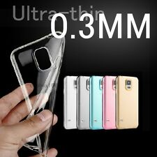 Ultrathin Transparen Gel Case Cover For Samsung Galaxy Core 2 Trend Lite 4G Plus