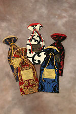 NEW! EXQUISITE GIFT WINE BAGS! FOR THE DISCRIMINATING BUYER ONLY. HANDMADE USA