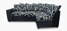 Dylan/Samantha Sofa Group In Black/Swirl - 2 Man Room Of Choice Delivery