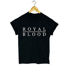 ROYAL BLOOD T SHIRT ROCK MUSIC FIGURE IT OUT COME ON OVER LITTLE MONSTER GIFT