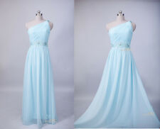 New Long Sleeveless EveningFormal Cocktail Prom Dresses Bridesmaid Dresses Gown