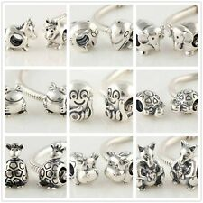925 Sterling Silver Animals Bead Series Ⅰ Bead Fits European Charm Bracelet