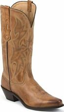 Nocona Women's Deertanned Snip Toe Western Boots Tan Medium NL1600