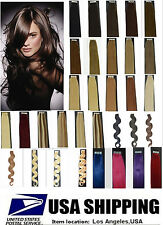 "16""18""20""22In Straight & Wavy Remy A Or A+ Tape Human Hair Extensions 50G 20PCS"