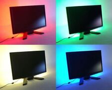 RGB LED Strip Light Multi-colour TV Background Lighting With USB Cable 50-200CM