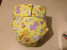 Adult Baby Diaper, Precious Moments, Fully Functional AIO, Extra Padding