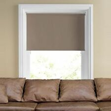 Made to measure Thermal Brown Blackout Roller Blind Free Postage