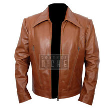New Xmen Wolverine Days of Future Past Genuine Brown Slim fit Leather Jacket