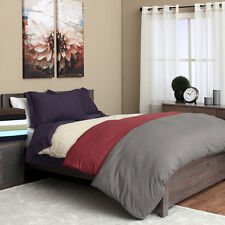 1500 Series Egyptian Quality 3pc Duvet Cover Set- All Sizes, 12 Colors