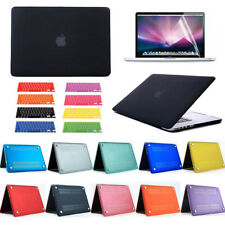 """3 in 1 Rubberized Hard Matte Case Cover For Macbook Air 11"""" 13"""" + LCD + Key skin"""