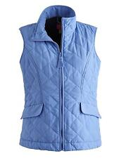 New Joules HARTLAND Original Quilted Gilet - Light Blue Sizes 8-18
