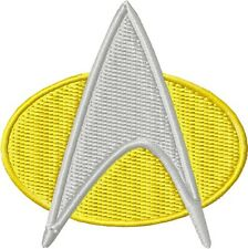 Star Trek TNG Combadge Patch: Sew-On or Iron-On