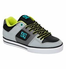 DC Shoes Men's Pure Low Top Shoes - Grey (Ggm)