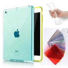 Transparent Crystal Clear Snap On Soft TPU Case Cover Skin For Appl iPad Mini1 2