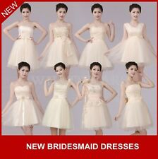 Womens Cute Evening Formal Party Ball Gown Prom Wedding Bridesmaid Dress MUK