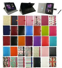 Universal Multi Angle Wallet Case Cover Stand for 7 - 8 inch Tablet & Stylus