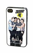 5SOS 5 Seconds of Summer Ash Luke Calum Michael Case Cover for iPhone & iPod