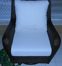 "24""x27"" Cushion Set for Patio Outdoor Deep Seat Furniture Chair-Choice of Solids"