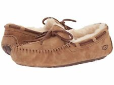 AUTHENTIC UGG AUSTRALIA DAKOTA 5612 CHESTNUT MOCCASIN WOMEN SLIPPER  *NIB*