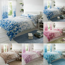 Blossom Floral Duvet Cover Quilt Cover Bedding Set Double King With Pillowcases