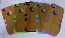 NEW Apple iPhone 5 BAMBOO Wood Cell Phone Case Eco-Friendly Unique & Fun