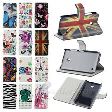 Magnetic Flip Leather Wallet Pouch Case Cover For Nokia Lumia N630 N635 / E-ZONE