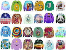 2014 new women's casual jacket collar print 3D cartoon adventure time cute hot