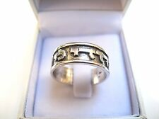 i am beloved kabbalah silver ring amulet ani le dodi blessing handmade new