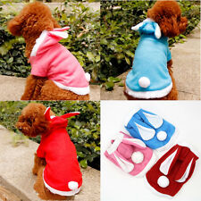 New Pet Dog Cat Clothes Coat Apparel Puppy Rabbit Hoodie Fancy Costume Outfit