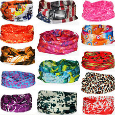 Unisex Sport Turban Bandana Magic Headband Wrap Tube Mask Cap Veil Head Scarf **