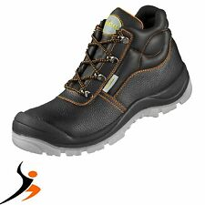 Work Shoes Safety Boots S3 WICA Marsala Leather Brandname Quality