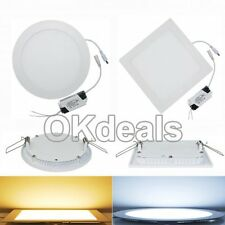 NEU 6W 9W 12W 15W 18W 21W Dimmable Recessed LED Down Lamp Panel Ceiling Light