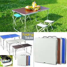 Folding Table Portable Plastic Indoor Outdoor Picnic Party Dining Camp Table USA