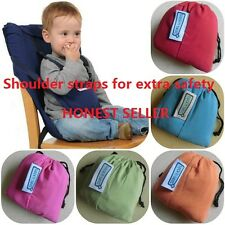 Safety Baby Portable High Chair Feeding Seat Infant Travel Sacking Seat Cover