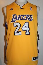 Kobe Bryant #24 Los Angeles Lakers YOUTH Gold Swingman Jersey