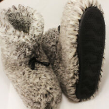 "COZY FOOT 100% Sheep Wool ""MERINO"" Sheepskin Slipper Boots Womens size6,7,8,9,10"