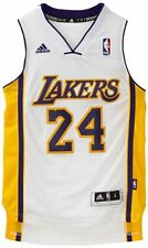 Kobe Bryant #24 Los Angeles Lakers YOUTH White Swingman adidas Jersey