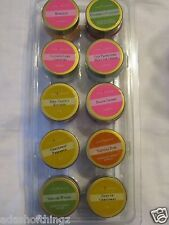 GOLD CANYON CANDLE SAMPLE JARS 10 DIFFERENT SCENT (14 different trays to choose)