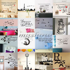 Birds Tree DIY Removable Art Vinyl Quote Wall Sticker Decal Mural Home Kid Decor