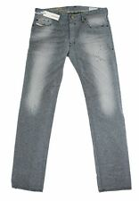 NEW AUTHENTIC DIESEL SAFADO 0807M REGULAR SLIM STRAIGHT LEG MEN'S JEANS PANTS
